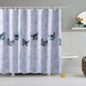 Extra wide shower curtain 22154