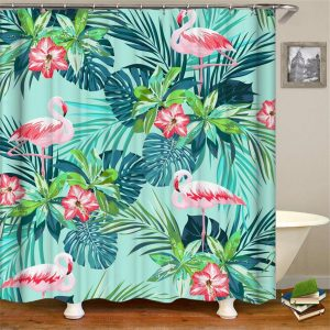 Flamingos shower curtain 20736